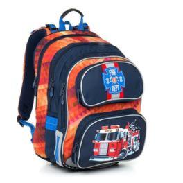 Plecak z usztywnianymi plecami TOPGAL CHI793-C