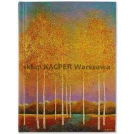 Notes szyty PETER PAUPER Moonlit Aspens 8359