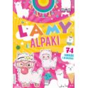 DMK Kolorowanka BOOKS&FUN Moje lamy i alpaki