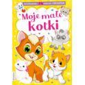 DMK Kolorowanka BOOKS&FUN Moje małe kotki