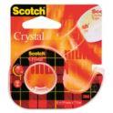 Taśma 19mmx7.5m na podajniku SCOTCH Cristal