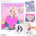 Kolorowanka z cekinowym sercem TOP MODEL 11146