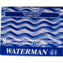 Naboje atramentowe WATERMAN niebieskie