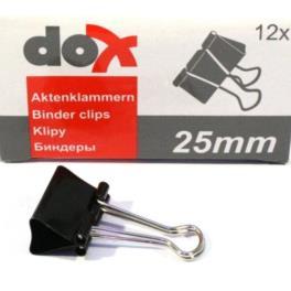 Klip biurowy 25mm DOX