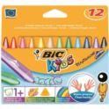 Kredki świecowe BIC KIDS Triangle 12 kol. 1+